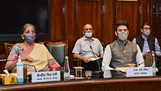 After a protracted discussion on the issue of tax exemptions at the GST Council meeting on Friday, the apex federal body decided to form a committee to examine the merits of waivers on individual items. (PTI PHOTO)