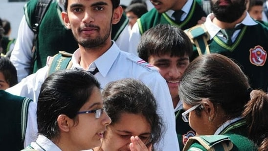 UP Board Exams 2021: UPMSP cancels Class 10 exams, 12th exams in July(HT file)