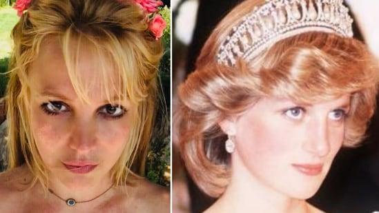 Britney Spears and Princess Diana(Instagram)