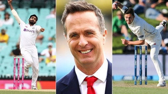 Michael Vaughan was asked to pick between Jasprit Bumrah and Trent Boult. (Getty Images)