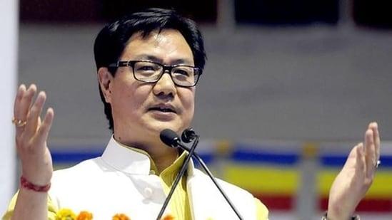 Minister Kiren Rijiju(HT archive)