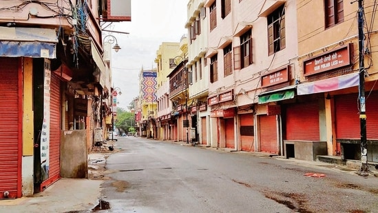 The governments of Mizoram, Meghalaya and Goa, too, have decided to extend the ongoing lockdown till June 6 and 7, respectively. (Sameer Sehgal/HT file photo)