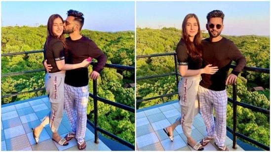 Rahul Vaidya is missing his girlfriend Disha Parmar.