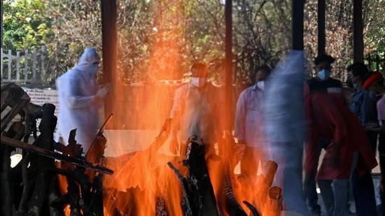 Covid victims are cremated by the health department according to standard operating procedures. (Picture for representational purposes) (AFP)