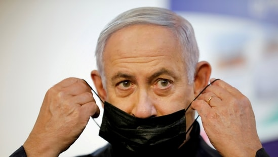 Israeli Prime Minister Benjamin Netanyahu's rivals have cited his corruption case as the main reason why Israel needs a new leader.(Reuters)