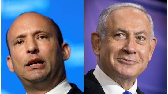 The dramatic announcement by Naftali Bennett, leader of the small hardline Yamina party, set the stage for a series of steps that could push Netanyahu and his dominant Likud party into the opposition in the coming week.(REUTERS)