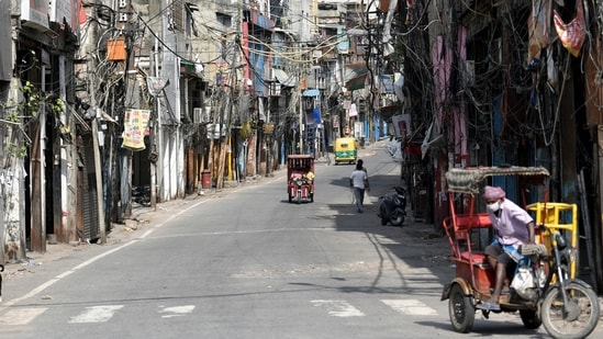 Restrictions imposed on the movement of individuals not engaged in essential activities have been extended by a week. (ANI Photo)