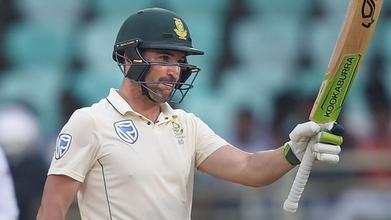 Newly-appointed South African Test skipper Dean Elgar(PTI)