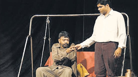 A still from 'Baapjanma.' (HT PHOTO)