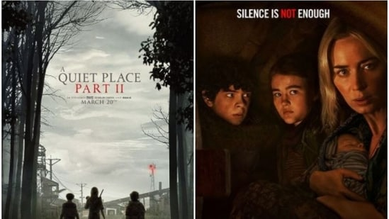 A Quiet Place 2 stars Emily Blunt in the leading role.