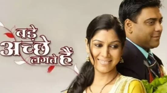 Ram Kapoor and Sakshi Tanwar played the lead roles in Bade Achhe Lagte Hain.
