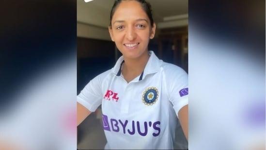 Harmanpreet Kaur reveals Indian women's team's Test Jersey(Instagram)