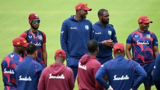 West Indies cricket team: File photo(Twitter)