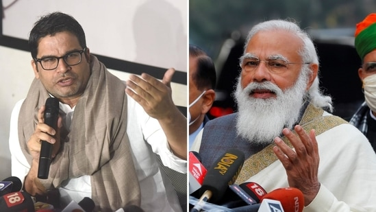 The poll strategist was reacting to a tweet posted by PM Modi stating that several children who lost their parents to Covid-19 will be cared for by the government.(PTI)