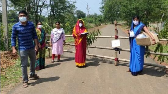 Dhenkanal with a weekly average of 37.2 per cent TPR still continued to be a cause for worry for the state government as much as Bhadrak with 36.55 per cent and Cuttack at 33 per cent. (HT PHOTO.)