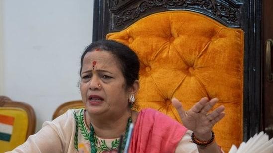 Mumbai mayor Kishori Pednekar (HT File Photo)