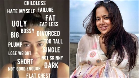 Sameera Reddy opens up about being 'shamed', shares ticket 'towards a happy you'(Instagram/reddysameera)