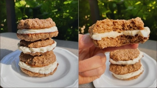 Recipe: Stress cannot exist in the presence of these Oatmeal Crème Pies(Instagram/tracesoats)