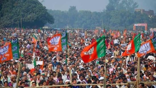 """In the last seven years, the Modi government has given the country immeasurable pain,"" Congress spokesperson Randeep Surjewala said.(PTI representative image)"