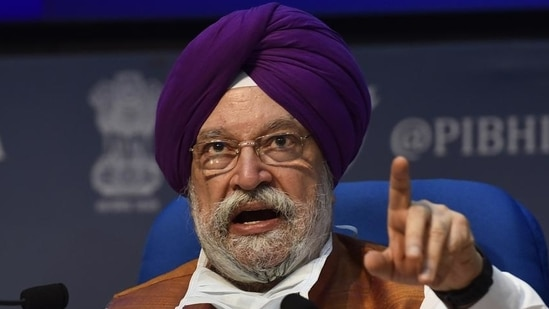 """Hardeep Puri pointed out the the Central Vista project has legal clearance that """"none of the historic, cultural, iconic buildings will be touched and will remain exactly as they are"""".(File Photo)"""