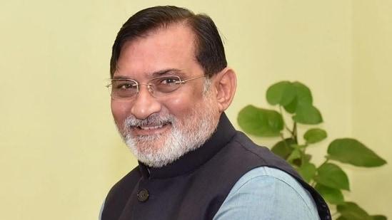 Lakshadweep administrator Praful Khoda Patel.(PIB)