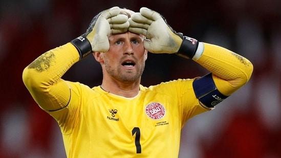FILE PHOTO: Denmark's Kasper Schmeichel(REUTERS)