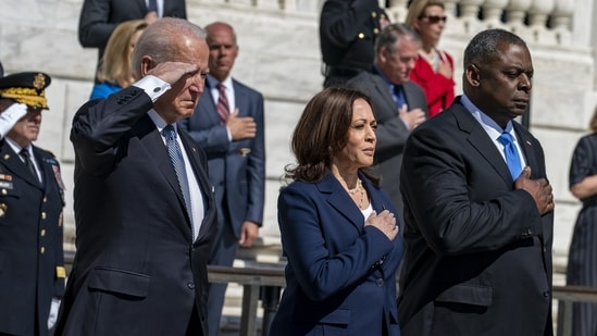 Joe Biden has made racial equity a centerpiece of his presidency.(Bloomberg file photo)