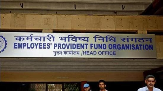 Employees' Provident Fund Organisation head office. (File photo)