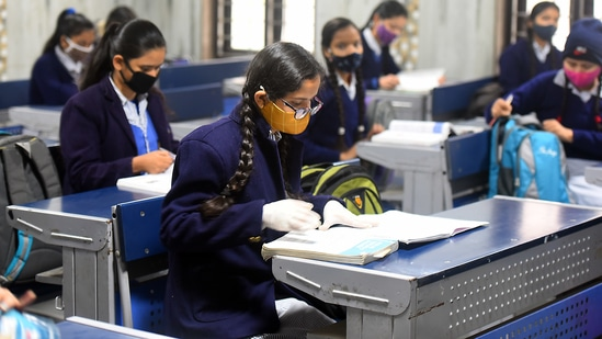 The board in April cancelled the Class 10 (ICSE) exams and postponed the Class 12 tests, which were scheduled to start on May 4 due to the surge in Covid-19 cases. (Photo: Raj K Raj/HT (For representational purposes only))