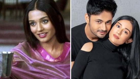 Amrita Rao recreated her 'jal lijiye' scene from Vivah but with a twist.