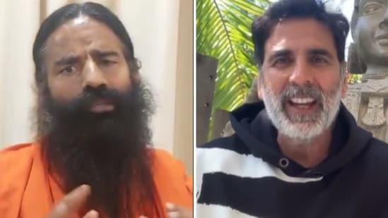 Baba Ramdev shared an old video of Akshay Kumar vouching for Ayurveda.