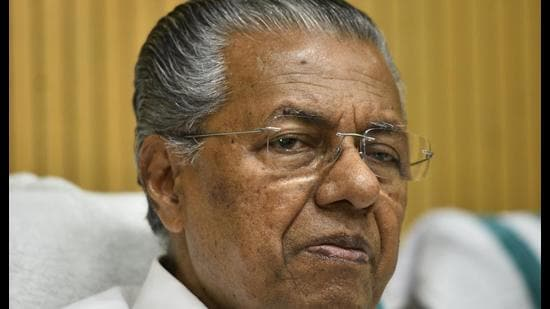 """Pinarayi Vijayan, chief minister of Kerala, said in his letter to chief ministers of 11 non-NDA-ruled states that vaccine companies are """"looking for financial gains by exploiting the scarce supply situation"""". (HT File Photo/Anushree Fadnavis)"""