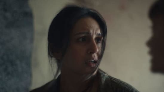 Huma Qureshi in a still from Army of the Dead.