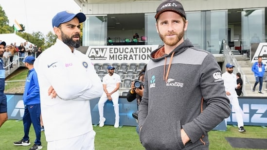 Virat Kohli and Kane Williamson.(Getty Images)
