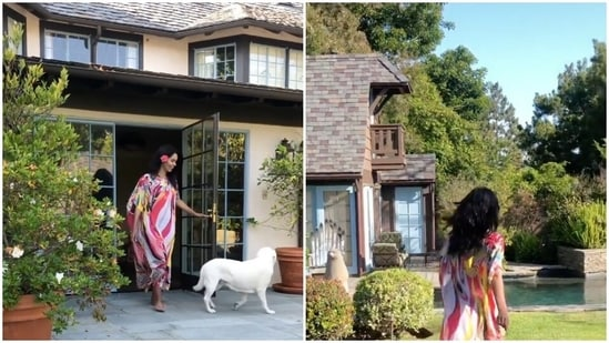 Mallika Sherawat shared a look at her luxurious villa in Los Angeles.