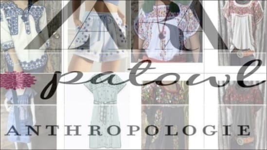Zara, Anthropologie, Patowl accused of cultural appropriation by Mexico(Twitter/Arcadeleer)