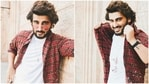 Arjun Kapoor shared a series of photos saying he's happy.
