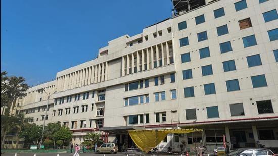 Sir Ganga Ram Hospital in New Delhi. (HT archive)