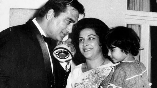 Sanjay Dutt remembers Nargis on her birth anniversary.
