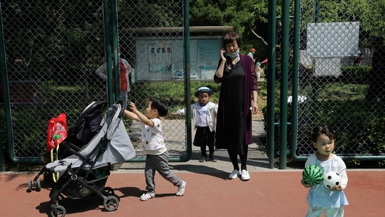 Social media participants cited the high cost of raising children in urban China.(Reuters)