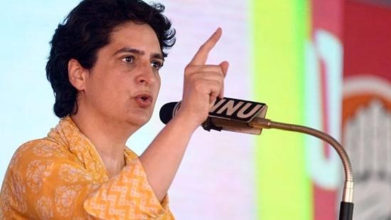 Congress leader Priyanka Gandhi Vadra. ANI Photo)