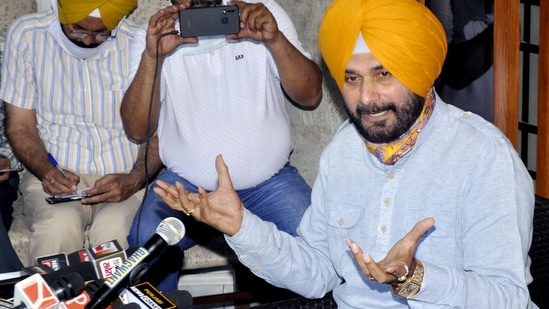 Sidhu has been critical of Capt Amarinder after the Punjab and Haryana high court in April quashed a probe into the 2015 Kotkapura firing incident. (File photo)