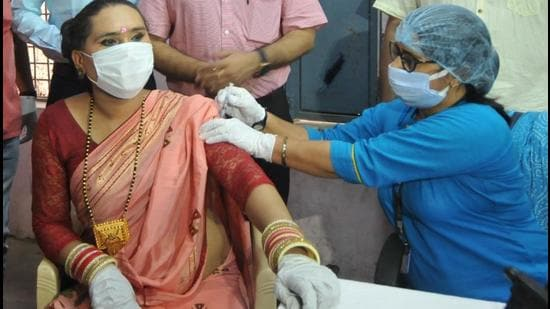 Sex workers and transgenders are thrilled to get themselves vaccinated at a dedicated camp for them, organised by Haryana government.