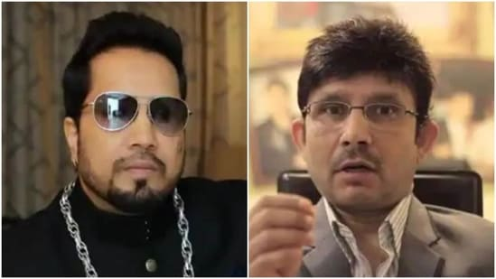 Mika Singh and Kamaal R Khan have been feuding.