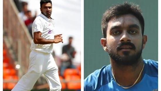 R Ashwin and Vijay Shankar.(File)