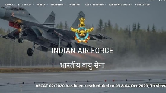 IAF AFCAT 2020.(Screengrab)