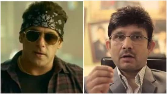 KRK has been slapped with a defamation case by Salman Khan.