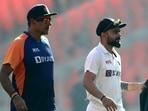 File photo of Ravi Shastri and Virat Kohli(Getty Images)