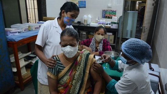 Maharashtra is slated to receive six million doses of Covid-19 vaccine in June.(Praful Gangurde/HT Photo)(HT PHOTO)
