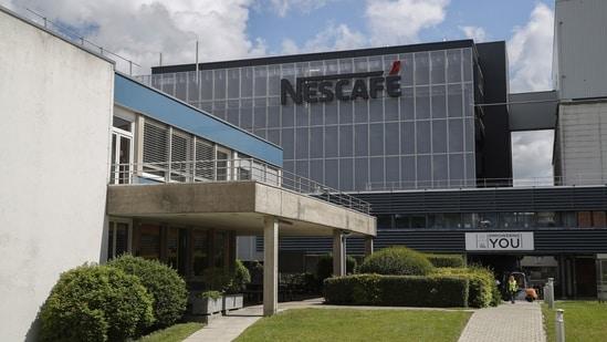 The Nestle SA's Nescafe plant in Orbe, Switzerland.(Bloomberg Photo)
